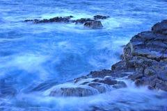 Ocean cascade Stock Image