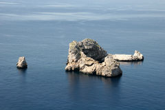 ocean centralna rock Obrazy Royalty Free