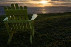 Ocean Chair Royalty Free Stock Image
