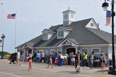 Ocean City Boardwalk in New Jersey Royalty Free Stock Photos