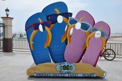 Ocean City Boardwalk in New Jersey Stock Photos