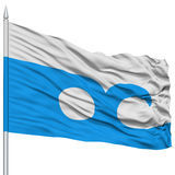 Ocean City Flag on Flagpole, USA Royalty Free Stock Photography