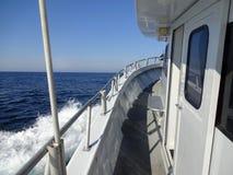 Ocean City Maryland Headboat Under Way royalty free stock image