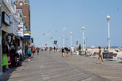 Ocean City, Maryland. Ocean City (OC or OCMD), officially the Town of Ocean City, is an Atlantic resort town in Worcester County, Maryland. Ocean City is a Stock Photo