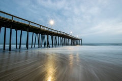 Free Ocean City, Maryland Pier During A Warm Fall Night Royalty Free Stock Image - 85409816
