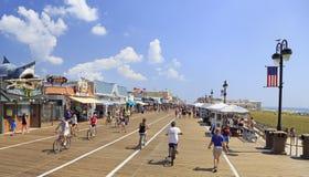 Ocean City boardwalk, New Jersey, USA stock photography