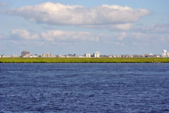 Ocean City Skyline Royalty Free Stock Photos