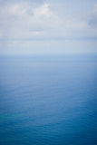 Ocean and cky. The ocean and blue sky Royalty Free Stock Photo
