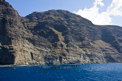 Ocean cliffs Royalty Free Stock Photo
