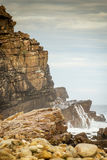 Ocean Cliffs South Africa Royalty Free Stock Photos