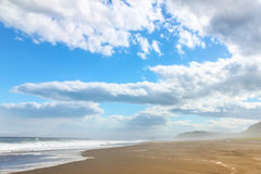Ocean and clouds Royalty Free Stock Images