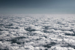 The ocean of clouds. Royalty Free Stock Image