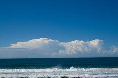 ocean, clouds, sky Royalty Free Stock Photography