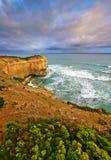 Ocean coast. Great Ocean Road, VIC, Australia Stock Image