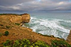 Ocean coast. Twelve Apostles, Great Ocean Road, VIC, Australia Stock Photography