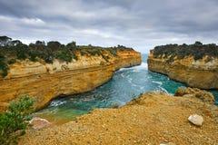 Ocean coast. Great Ocean Road, VIC, Australia Royalty Free Stock Photos