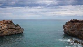 Ocean coast stock video footage