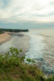 Ocean coast at Bali Royalty Free Stock Photos