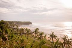 Ocean coast at Bali Stock Photography