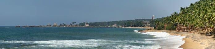 Ocean coast (panorama) Royalty Free Stock Photo