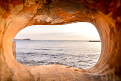 Ocean Coast's View Royalty Free Stock Photo