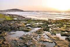 Ocean Coast's View Stock Photo
