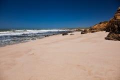 Ocean coastline landscape. Pacific Ocean coastline landscape in California, U.S.A Royalty Free Stock Image