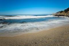 Ocean coastline landscape. Stock Image