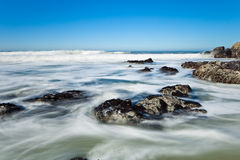 Ocean coastline landscape. Royalty Free Stock Images