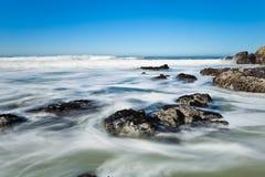 Ocean Coastline Landscape. Royalty Free Stock Images