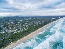 Ocean coastline in New South Wales. Royalty Free Stock Photo