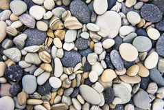 Ocean costal rocks - cristal clean rocks - pasific ocean coast Stock Photography
