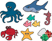 Ocean Creatures Stock Photo