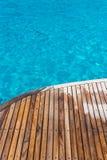 Ocean and deck Stock Photos