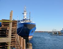 Ocean dock Stock Photo