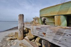 Ocean dock Stock Photography