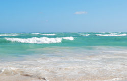 The ocean, Dominican republic Royalty Free Stock Photo