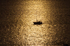 Ocean Dreams 3. Spectacular sunset in Vancouver, British Columbia, Canada stock photo