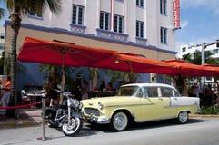 Ocean Drive Stock Photo
