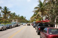 Ocean Drive Royalty Free Stock Photo