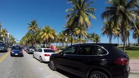 Ocean Drive 4K Royalty Free Stock Photo