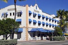 Ocean drive buildings Stock Image