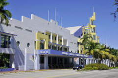 Ocean drive buildings Royalty Free Stock Images