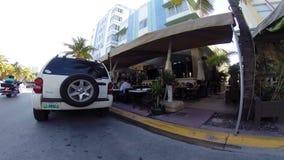 Ocean Drive Miami Beach stock video