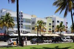 Ocean Drive Miami Beach Royalty Free Stock Photos