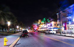 Ocean drive,Miami Royalty Free Stock Photo