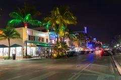 Ocean drive, Miami Royalty Free Stock Photo