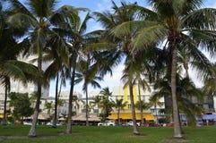 Ocean Drive, South Beach, Miami, Florida Royalty Free Stock Photos