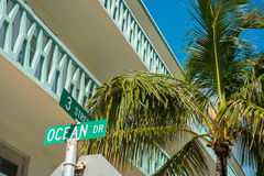 Ocean Drive Royalty Free Stock Images