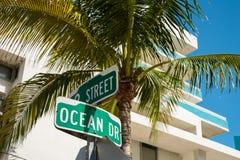 Ocean Drive Stock Images